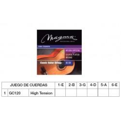 GUIT. CLÁSICA (CUERDA NYLON) MAGMA GC120