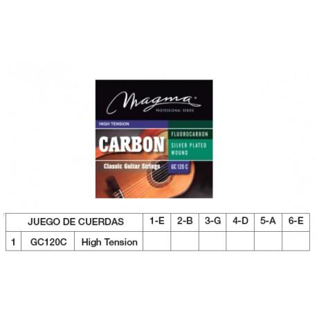 GUIT. CLÁSICA (CUERDA NYLON) MAGMA GC120C