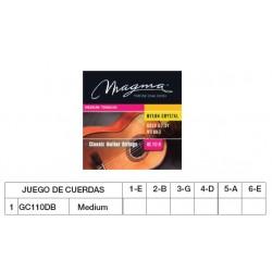 GUIT. CLÁSICA (CUERDA NYLON) MAGMA GC110DB