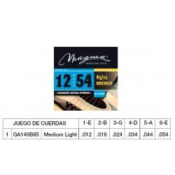 GUIT. ACÚSTICA (CUERDA METÁLICA) MAGMA GA140B85