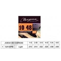 GUIT. ACÚSTICA (CUERDA METÁLICA) MAGMA GA120PB