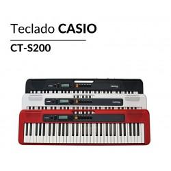 ORGANO CASIO CT-S200 COLORES