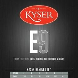CUERDA KYSER E9 GUITARRA ELECTRICA JGO