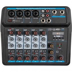 MEZCLADORA AUDIO AMERICAN EXTREME PMX-U6 USB BT