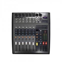MEZCLADORA AUDIO AMERICAN EXTREME MIX-612 USB/EQ/FX